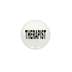 Therapist Mini Button (10 pack)