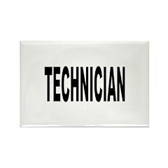 Technician Rectangle Magnet
