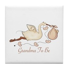 Grandma To Be (SP) Tile Coaster