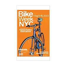 Bike Week NYC 2003 Rectangle Decal