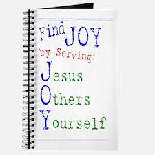 Find Joy in serving Jesus Oth Journal