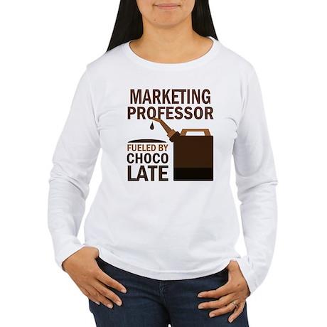 Marketing Professor (Funny) Gift Women's Long Slee