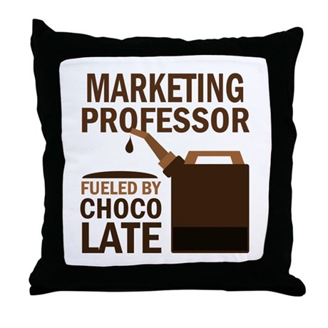 Marketing Professor (Funny) Gift Throw Pillow