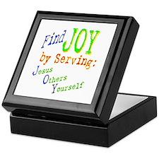 Find Joy in serving Jesus Oth Keepsake Box