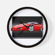 1991-1992 Firebird red Wall Clock