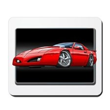 1991-1992 Firebird red Mousepad