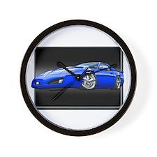 1991-1992 Firebird blue Wall Clock