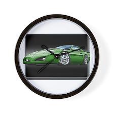 1991-1992 Firebird green Wall Clock