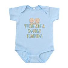 Double Blessing Twins Infant Bodysuit