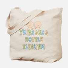 Double Blessing Twins Tote Bag