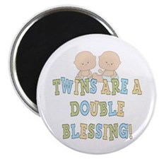 Double Blessing Twins Magnet