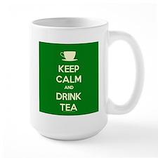 Keep Calm & Drink Tea (Green) Mug