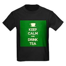 Keep Calm & Drink Tea (Green) T