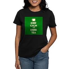 Keep Calm & Drink Tea (Green) Tee