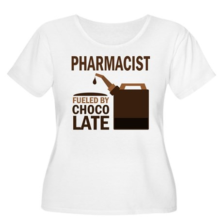 Pharmacist (Funny) Gift Women's Plus Size Scoop Ne