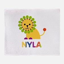 Nyla the Lion Throw Blanket