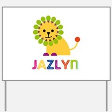Jazlyn the Lion Yard Sign