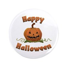 "Halloween 3.5"" Button"