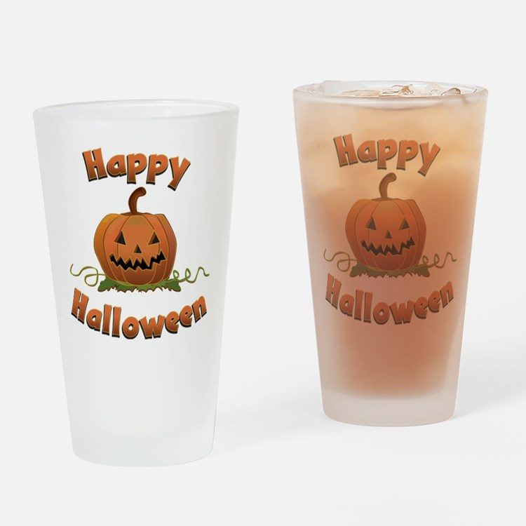 Halloween Drinking Glass
