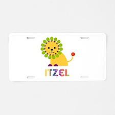 Itzel the Lion Aluminum License Plate