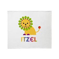 Itzel the Lion Throw Blanket