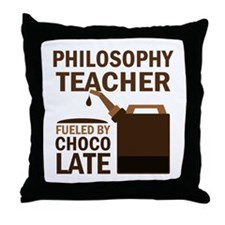 Philosophy Teacher (Funny) Gift Throw Pillow
