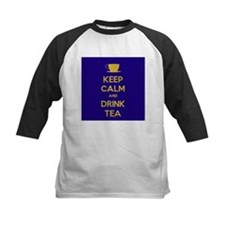 Keep Calm & Drink Tea (Dark Blue) Tee