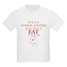 'Real Animal Lovers' T-Shirt