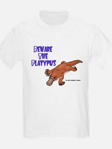 Beware the Platypus 06 Kids T-Shirt