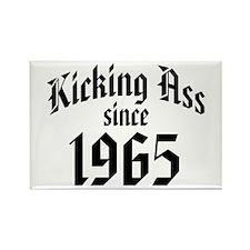 Kicking Ass Since 1965 Rectangle Magnet (100 pack)