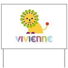 Vivienne the Lion Yard Sign