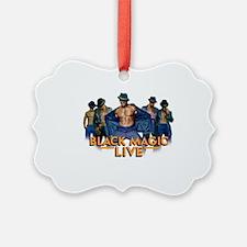 Cute Black magic Ornament