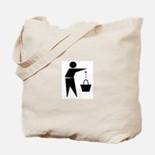 Put the Lotion in the Basket Tote Bag