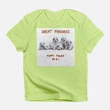 Great Pyrenees , Puppy Power Infant T-Shirt