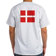 Proud to be Danish Ash Grey T-Shirt