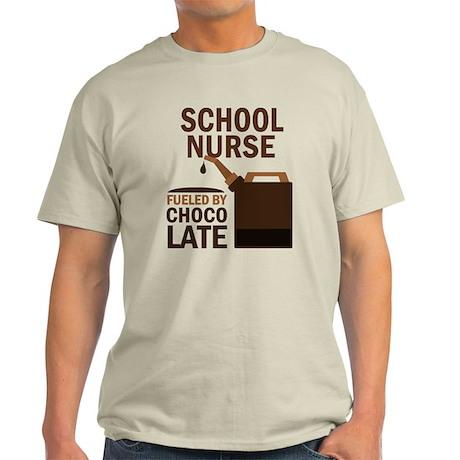 School Nurse (Funny) Gift Light T-Shirt