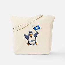 Connecticut Penguin Tote Bag
