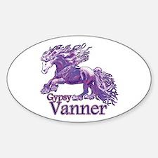 Regal Gypsy Sticker (Oval)