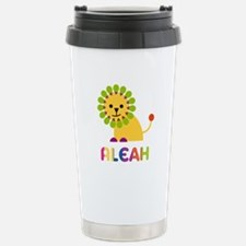Aleah the Lion Stainless Steel Travel Mug