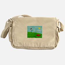 Cute Cornhole Messenger Bag