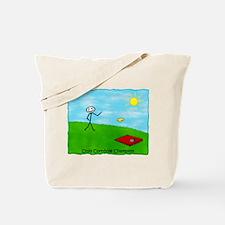 Cornhole Stick Person<br> (O Tote Bag