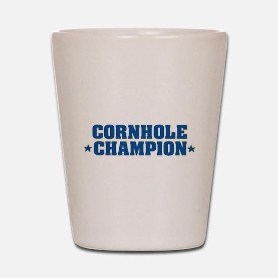 Cornhole * Champion * Shot Glass