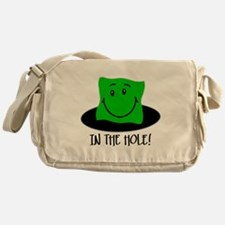 In The Hole Messenger Bag