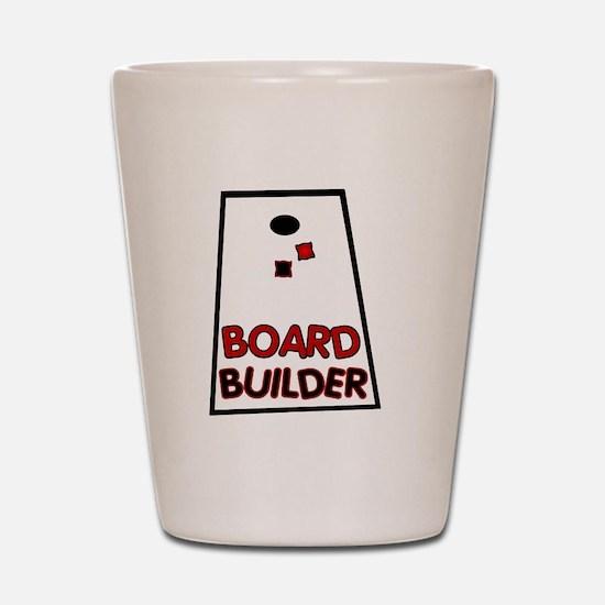 Board Builder Shot Glass