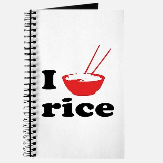 I love rice Journal