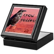 Crow Goddess Keepsake Box
