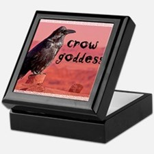 Crow Goddess Keepsake Box
