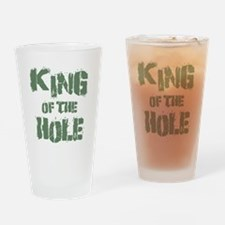 King Of The Hole Drinking Glass