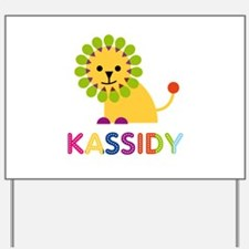 Kassidy the Lion Yard Sign