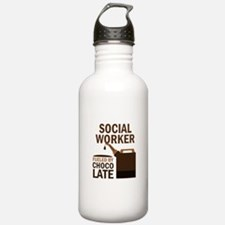 Social Worker (Funny) Gift Water Bottle